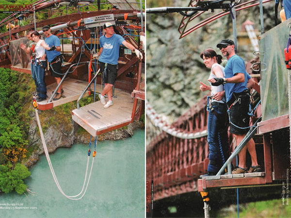 Fear And A Queenstown Bungy Jump {AJ Hackett}