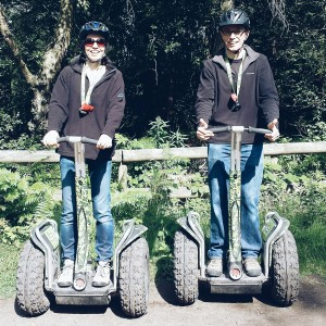 GoApe! Forest Segway Experience {Delamere Forest}
