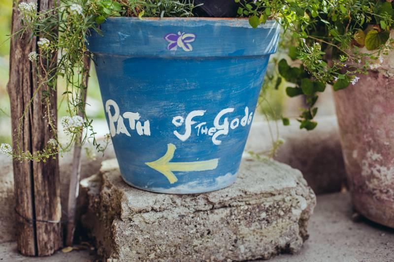 Path of the Gods plant pot
