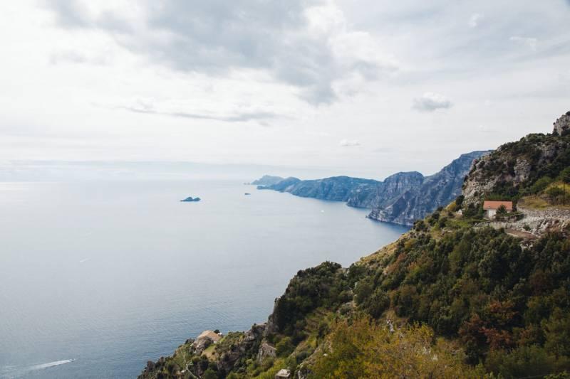 View of Amalfi Coastline, Sentiero degli Dei
