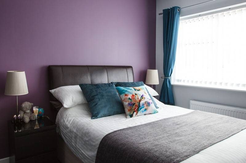 We moved into the bedroom on Sunday and it feels like such a milestone  We  just need to change the colour of the lampshades  and decide what to put on  the. House Renovation Update  Rebuilding The Bedroom   Radiating Chaos