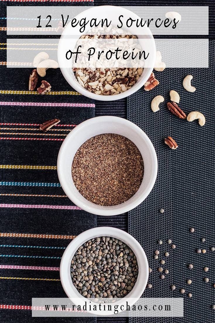 12 Vegan Sources of Protein