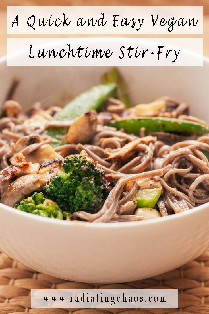 A Quick and Easy Vegan Lunchtime Stir Fry