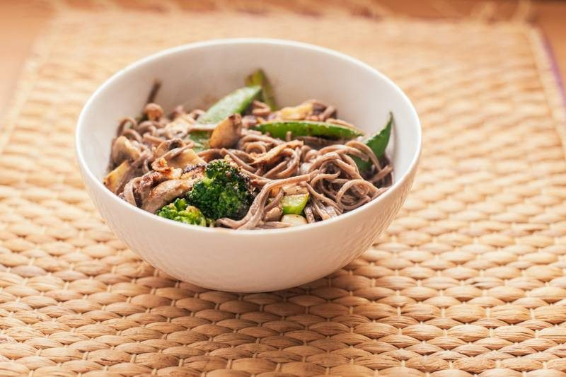 A Quick and Easy Vegan Lunchtime Stir-fry