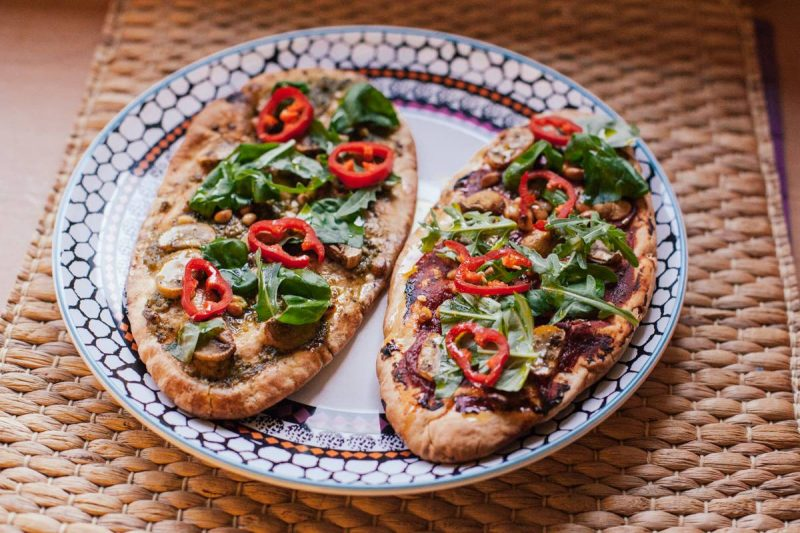 Quick and Easy Vegan Pitta Pizzas