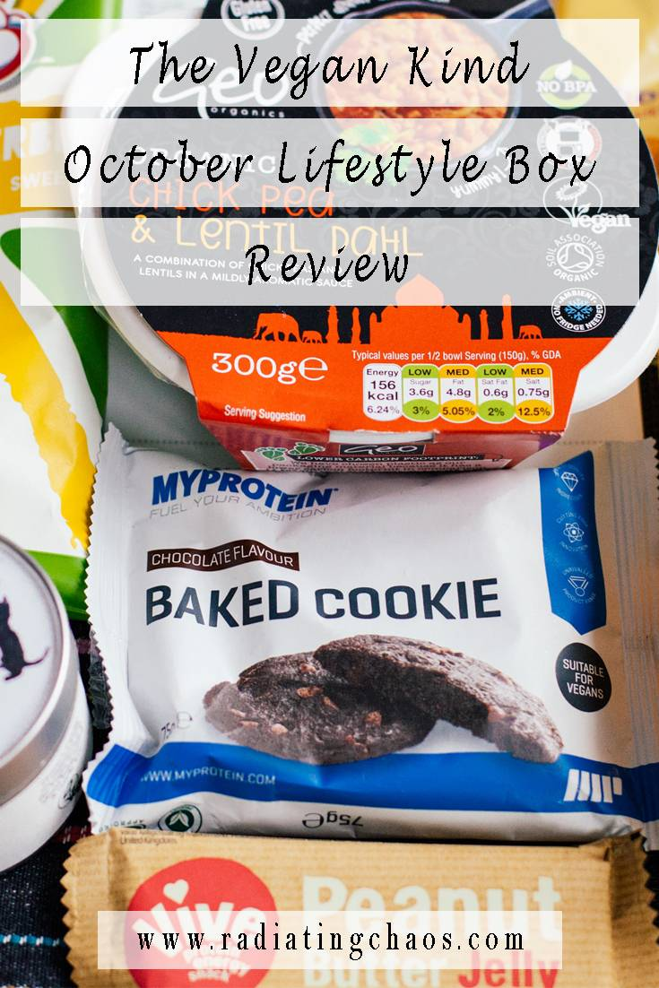 The Vegan Kind October Lifestyle Box