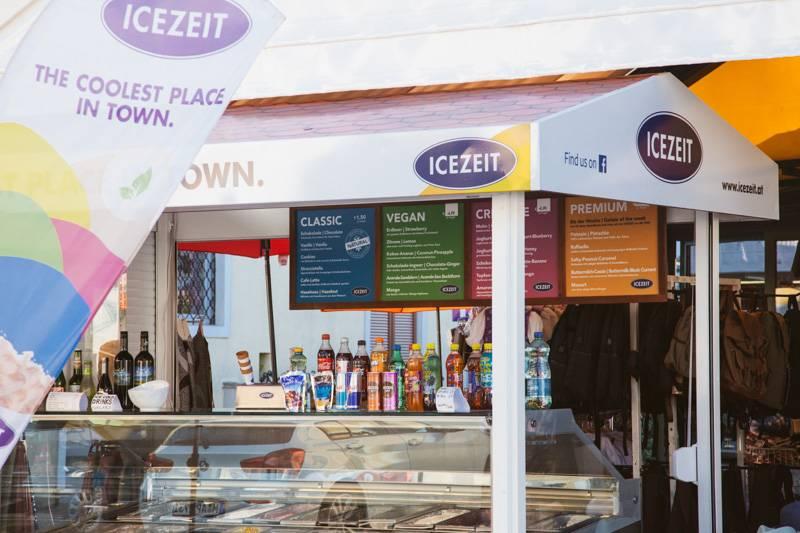 Vegan ice-cream shop in St. Gilgen, Austria