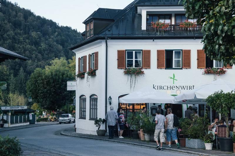 Kirchenwirt Hotel in Strobl, Austria