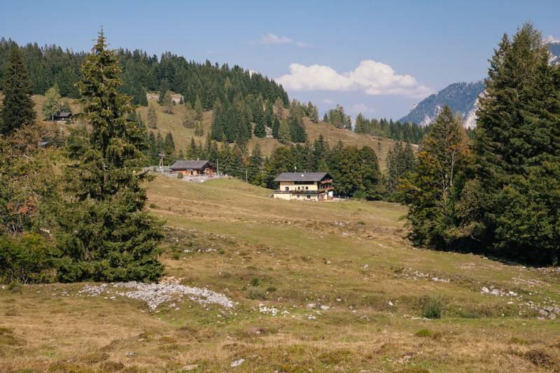 A hotel on a hillside in Postalm, Austria