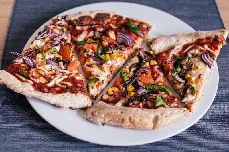Papa John's vegan pizza