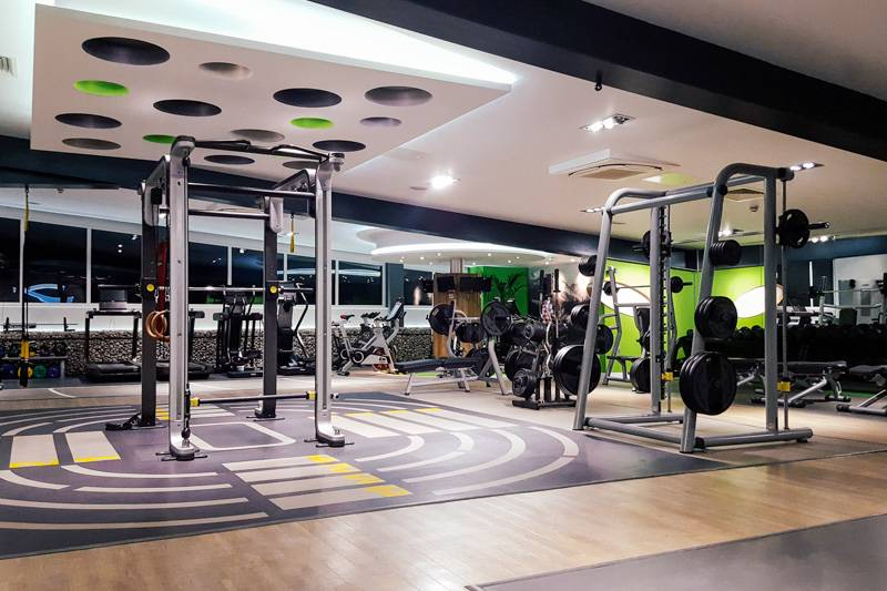 Gym with Free Weights