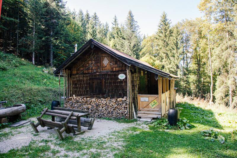 Rettenkogel-Hütte in Rotwandl forest, Austria
